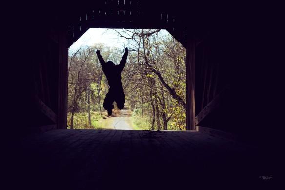 Jump in Silhouette II